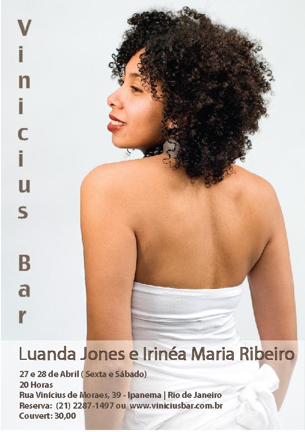 Show no Vinicius (27 e 28 de Abril)