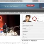 Live on Q with Jian Ghomeshi -Nov 2009