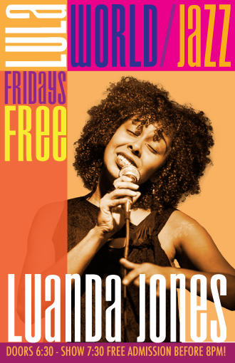 Canadian Music Week @ LULA LOUNGE: Luanda Jones (7:30pm) + Yani Borrell Salsa Orchestra (10:30pm) + Dance Lesson with Afro Latino + DJ Suave
