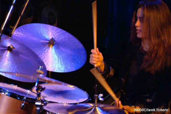 Sylvia Cuenca ( Drums )