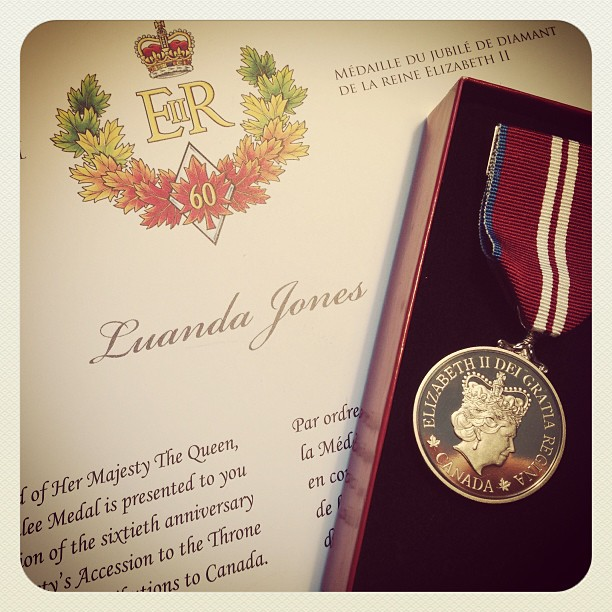 The Queen\'s Diamond Jubilee Medal