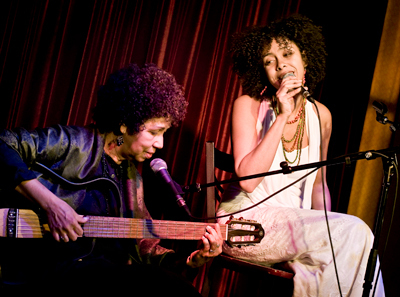 Irinéa Maria Ribeiro and Luanda Jones (Pic by Kevin Jones)