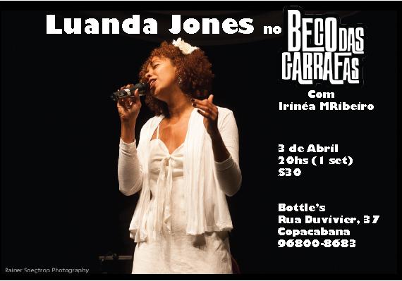 Beco das Garrafas- 3 de Abril, 20hs